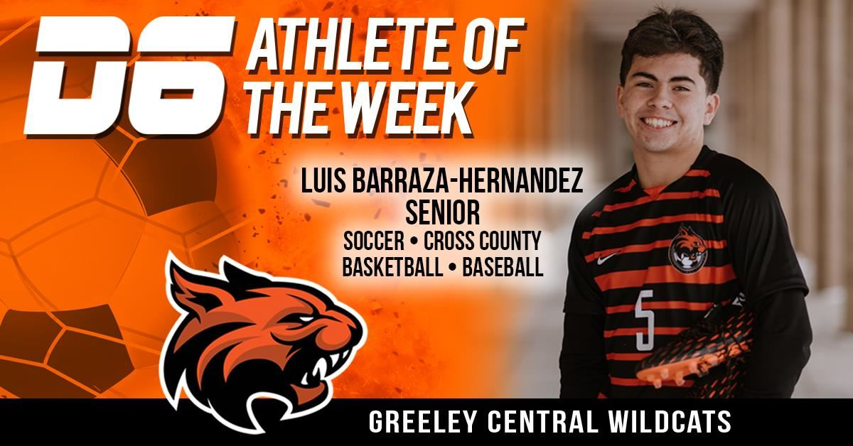 D6 Athlete of the Week Luis Barraza Hernandez 2021
