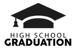 high school graduation icon