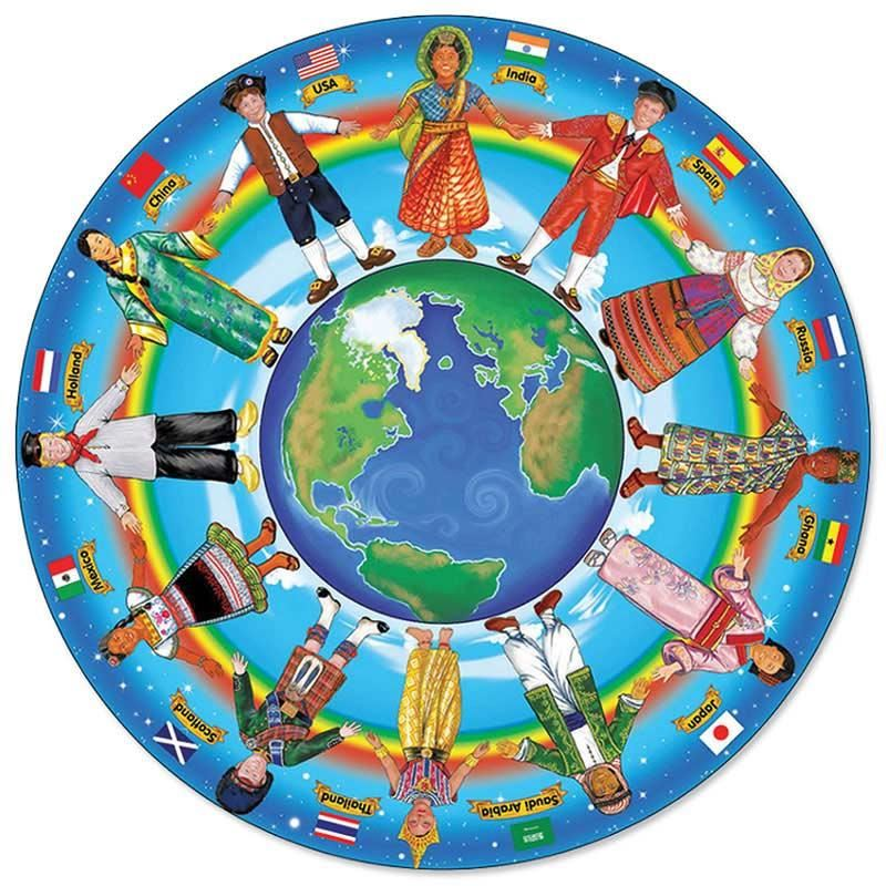 Cultures around the world clipart