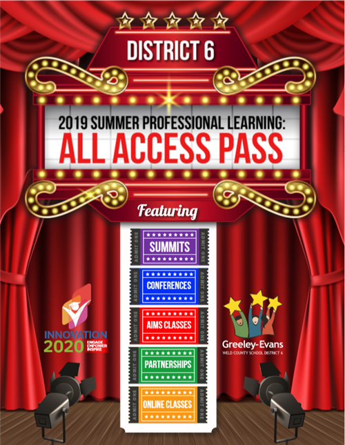 2019 Summer Catalog - All Access Pass