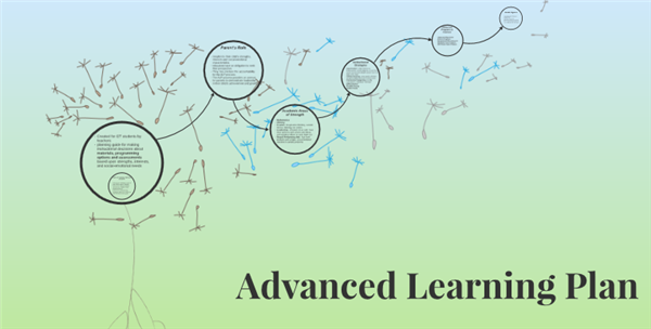 Advanced Learning Plans Now Online
