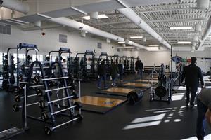 Weight Room in Riverdale Ridge High School