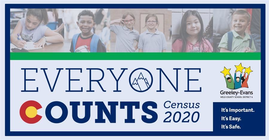 Everyone Counts Census 2020 Graphic