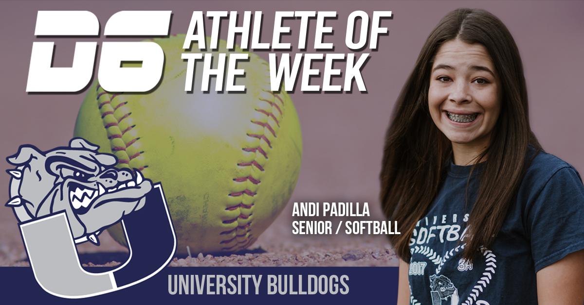 D6 Athlete of the Week - Andi Padilla 2