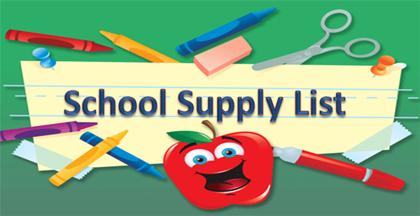 2015-16 School Supply List