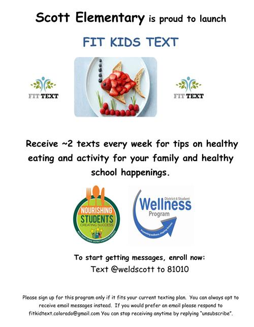 fit kids text