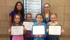 Winograd K-8 School TCAP Platinum Award Winners & Teachers