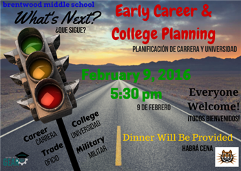 early career and college planning
