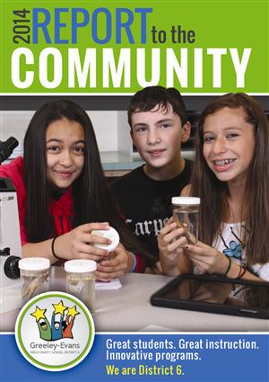 Report to the Community cover